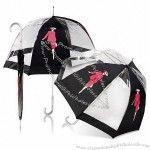 Brollies & Parasols PVC Dome Walker Umbrella