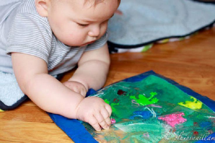 Comment fabriquer un sac sensorielle pour bébé!