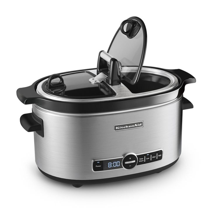 Have to have it kitchenaid slow cooker with easy serve