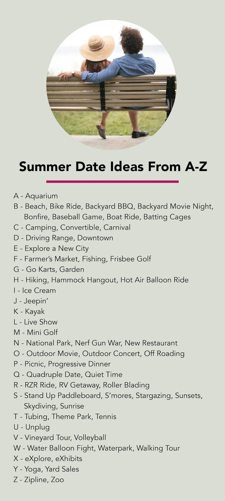 alphabet dating challenge