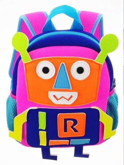 Robot Kids Neoprene School Bag Oem Backpack - Buy Robot School Bags And Neoprene…