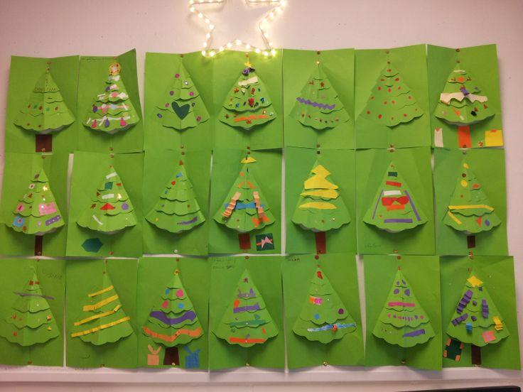 Christmas craft - Kerst knutsel groep 5