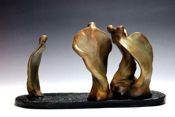 Bronze sculpture The New Kid by Lazaroff by zalt57 on Etsy