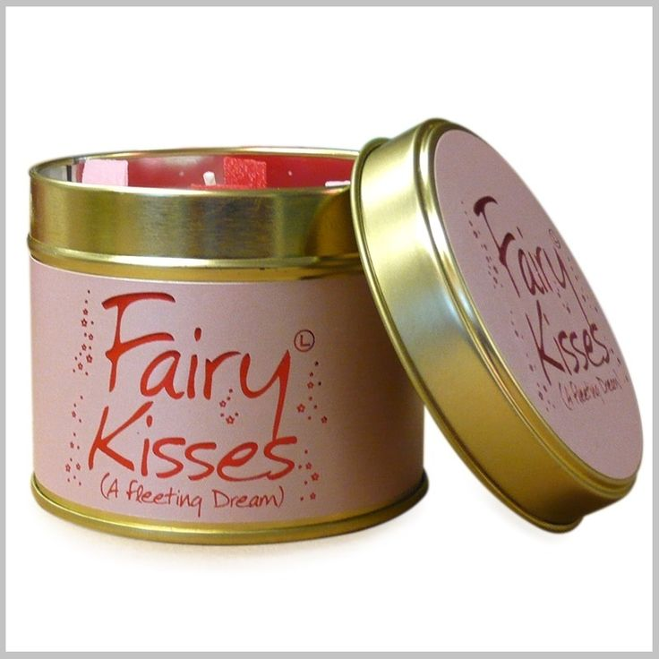 Geurkaarsen - Scented candles - Fairy Kisses