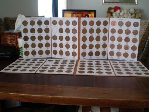 Superior Australian 1911-1964 Penny Collection Set 100% All Mint Marks &Quality $695 includes 1925 & 1946
