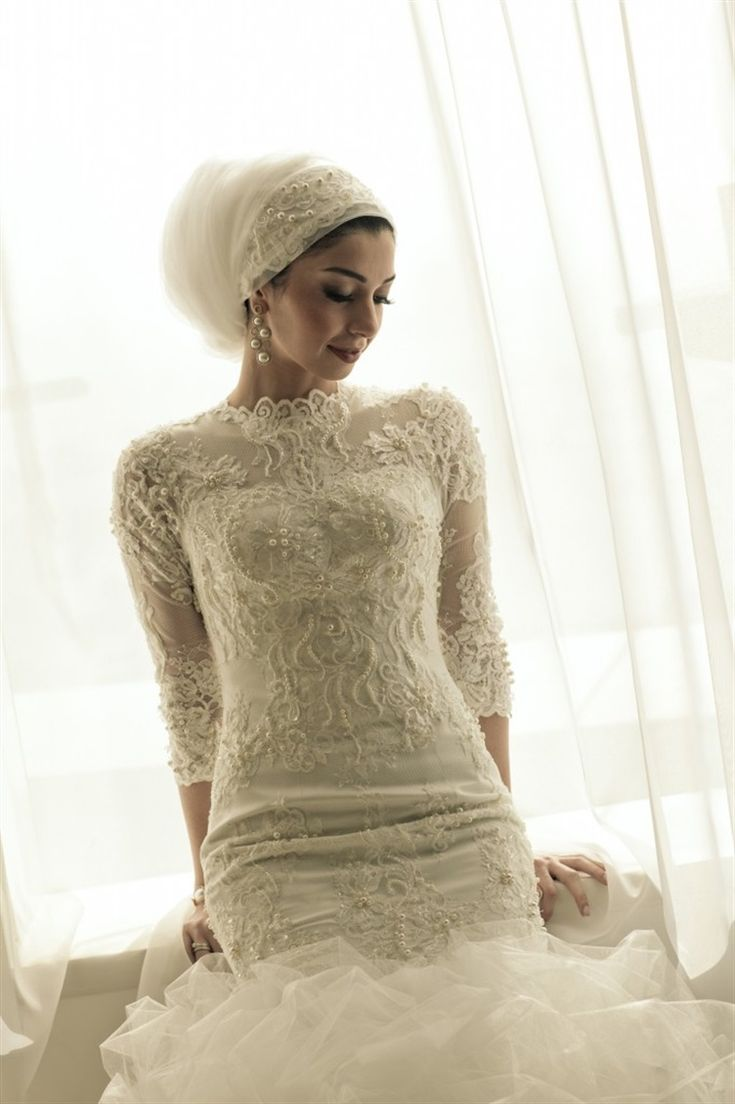 139 Best Images About Bridal Hijab On Pinterest