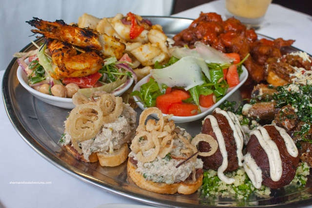 Are opening evening of the Unconvention led us to Sanafir- an exotic Tapas style restaurant. We lounged on beds or sat cross-legged in the Moroccan Room and pigged out on the famous Mezze Platters...in our slippers.