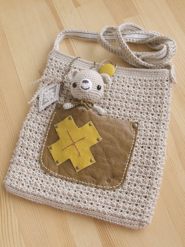 crochet purse & amigurumi