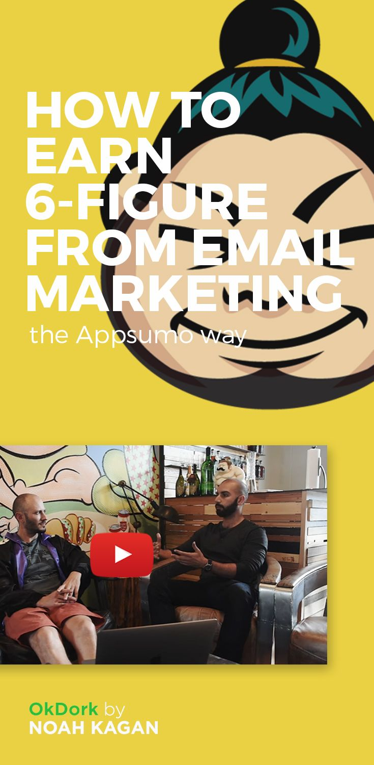 How to earn 6-figure from email marketing #email #marketing #business #noahkagan