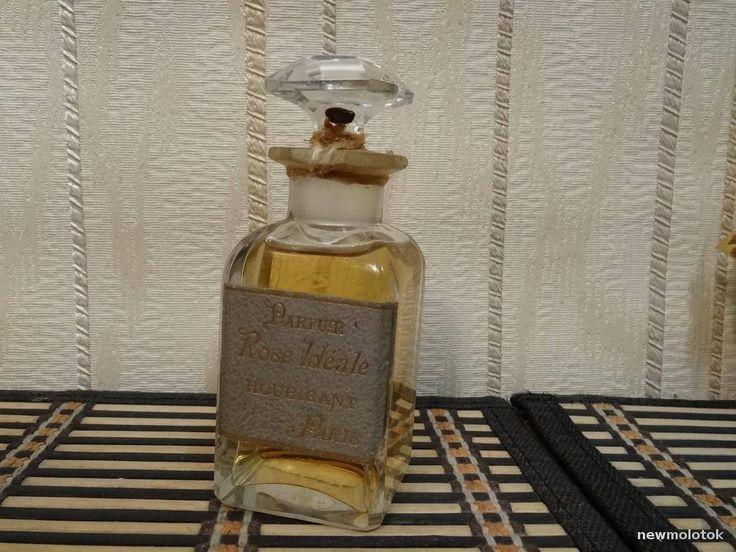 Rose Ideale Houbigant 50ml. Perfume Vintage Rare Baccarat by MyScent on Etsy