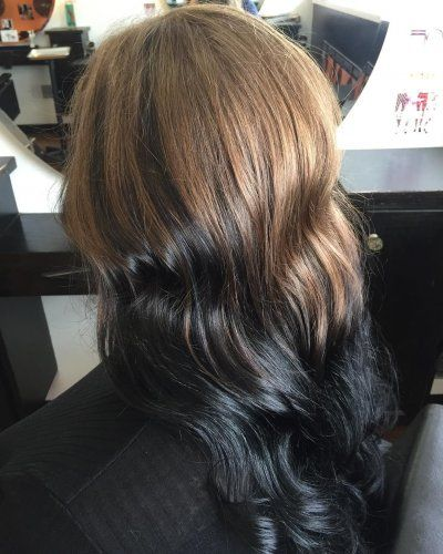 In Style Hair Colors 48 Best Reverse Ombre Hair Color Images On Pinterest  Hair Color