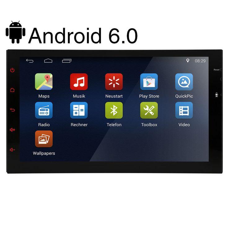 "2016 Android 6.0 7"" Doppel 2Din Autoradio GPS Navi OBD2 BT 3G RDS Mirror Link DE in Auto & Motorrad: Teile, Hi-Fi & Navigationsgeräte, Autoradios | eBay!"