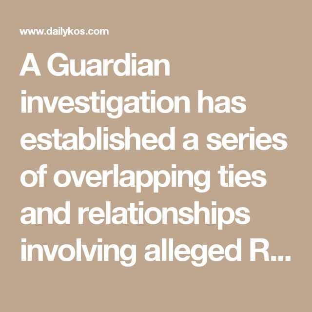 A Guardian investigation has established a series of overlapping ties and relationships involving alleged Russian money laundering, New York real estate deals and members of Trump's inner circle. They include a 2015 sale of part of the old New York Times building i