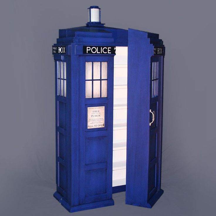 Put Your Things In A TARDIS With The Doctor Who TARDIS Shelving System. It  Might Not Be Bigger On The Inside But You Can Part 77