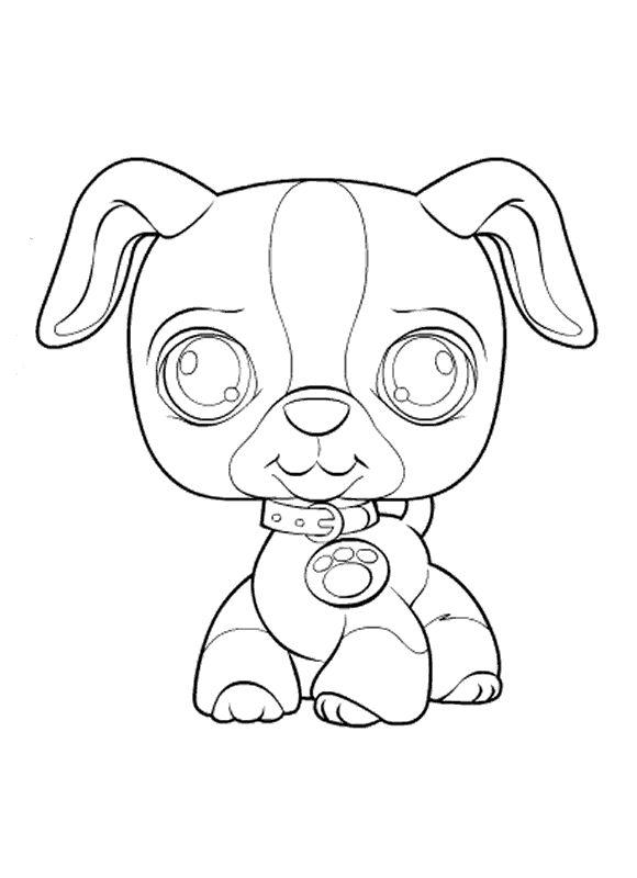 8 best petshop images on Pinterest Coloring pages, Coloring books - best of coloring pages of littlest pet shop dogs