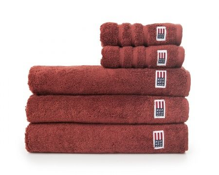 Original Towel Russet Brown. Fall News for your bathroom. Lexington soft and heavy terry towel in 600 g combed cotton.