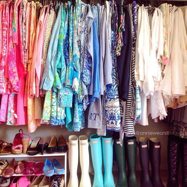 I took your advice and grouped like items of clothing in my closet based on…