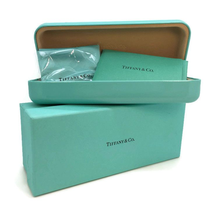 Tiffany & Co Eyeglasses Sunglasses Hard Case ONLY w/Cloth and BOX