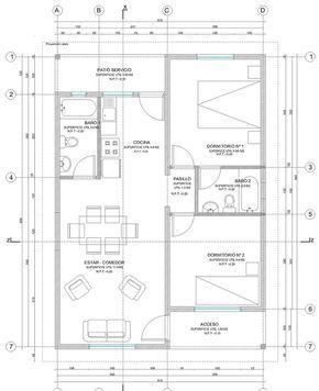 preview plano de casa completo con medidas 55 - Modification De Plan De Maison