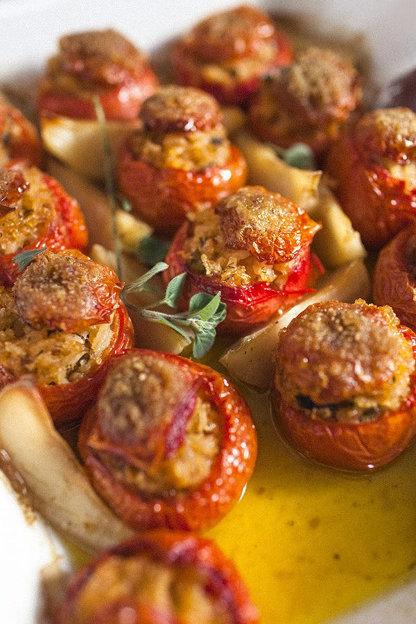 161 best food its all greek to me images on pinterest cooking tomates gemistes greek stuffed tomatoes forumfinder Images