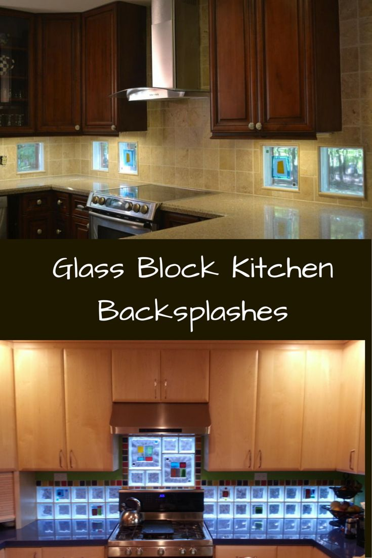 Kitchen Backsplash Video glass block backsplash. awesome kitchen backsplashes design for
