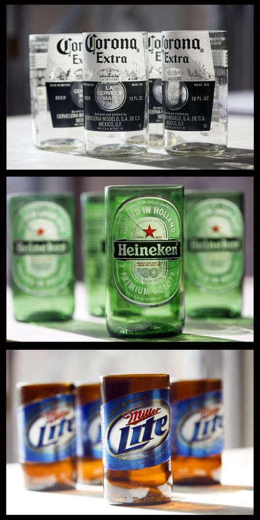 turn your favorite beer bottle into a glass!