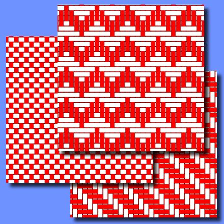 Woven strips ePapers
