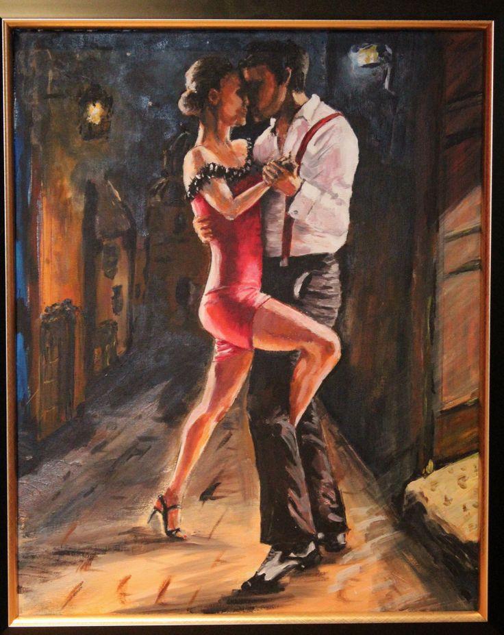 Street Tango- original Painting