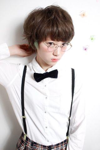 マッシュ×パーマ×ポイントカラー by 南澤晃