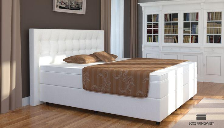 Pin von Heiko auf Schlafzimmer Pinterest Boxspringbett - schlafzimmer set mit boxspringbett