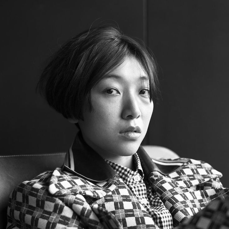 「Miu Miu #WomensTales 11 SEED is played by Sakura Ando.  Portrait by @brigittelacombe」
