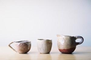 Shino Takeda tea set