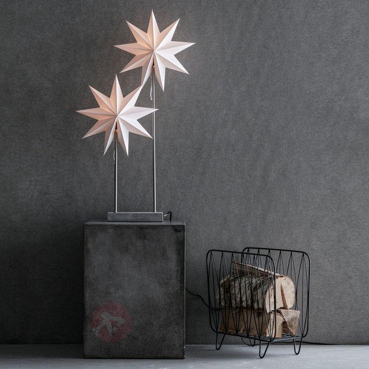 Dwie gwiazdy – lampa dekoracyjna Duva 6507476
