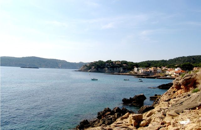 Little Fishing village in South Mallorca, Sant Elm