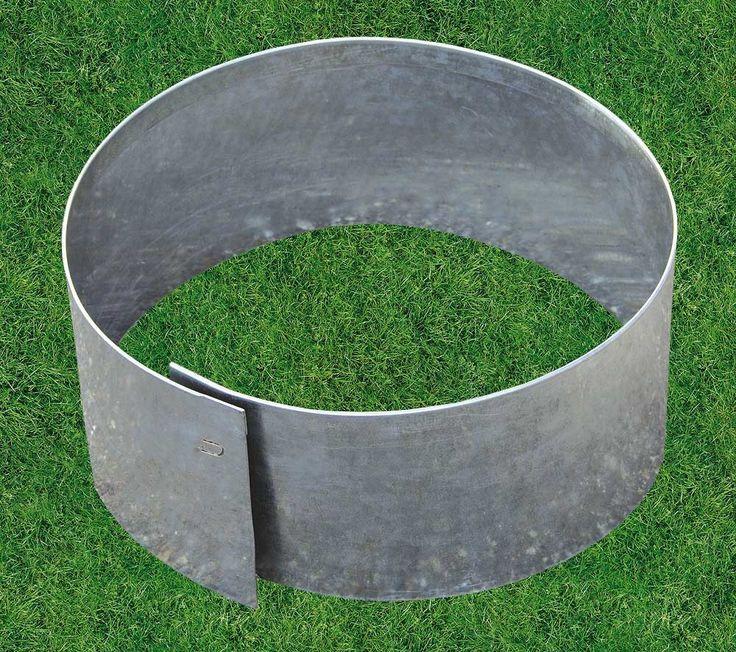 Bordure De Jardin En Metal Circulaire Flexible 20 X 20 X 13 Cm Terrasse Jardin Amenagement Jardin Jardins