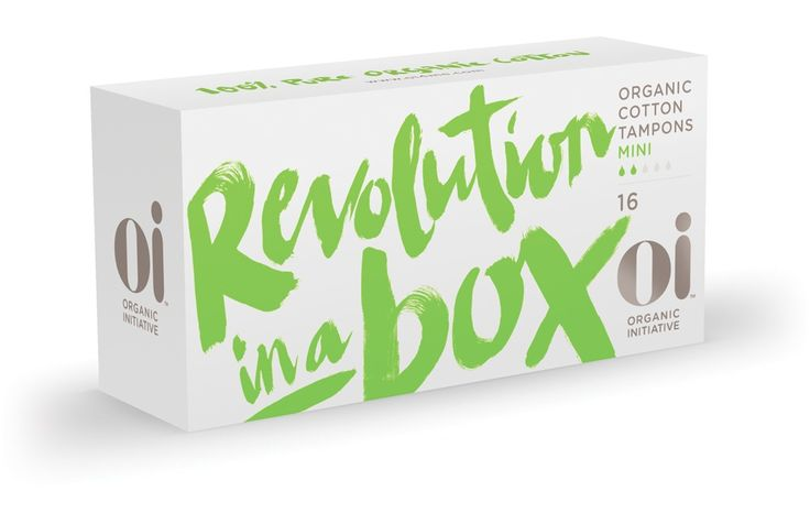 OI | The Organic Initiative - Organic Tampons & Pads