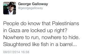 George Galloway - I acknowledge apartheid exists