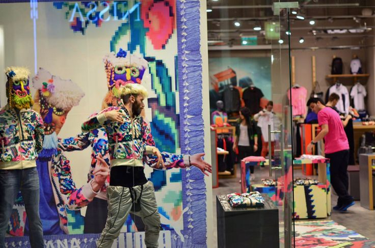Paul Dunca, dance performer Puma Etno Star Jacket by Lana Dumitru  #lana #dumitru #lanadumitru #digitalprint