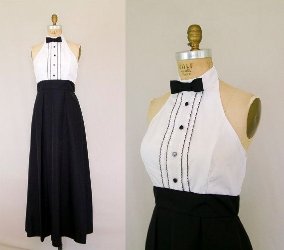 Fancy tuxedo dress This would be perfect for the girls on Beth us side I u