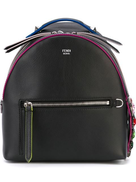 Shop Fendi crystal crocodile detail mini backpack in Leam from the world's best independent boutiques at farfetch.com. Shop 400 boutiques at one address.