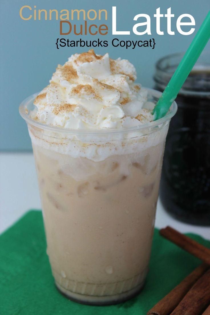 Cinnamon Dolce Latte Starbucks Copycat