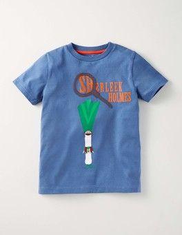 Sail Blue/Sherleek Holmes Dig It Up T-shirt Boden