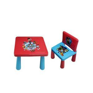 Paw Patrol Çocuk Masa ve Sandalye Seti
