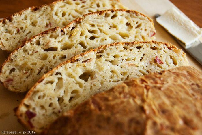 Португальский сырный хлеб .