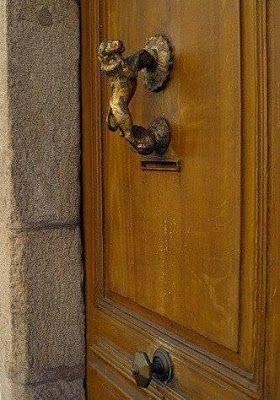 lion antique door handles - Antique Door Hardware