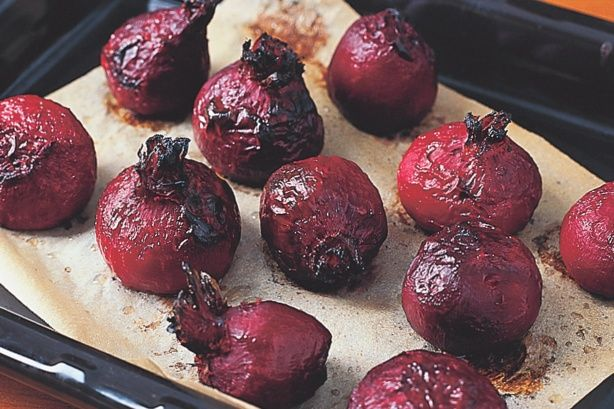 For a tasty and colourful side try this roast beetroot and horseradish recipe.