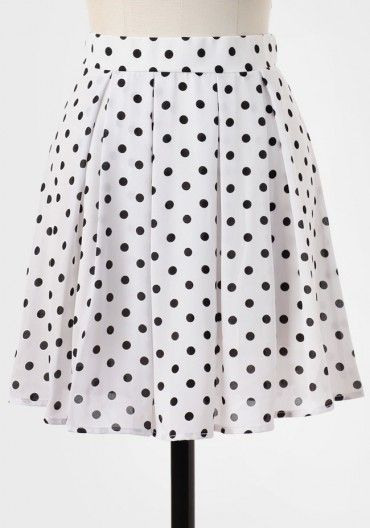 Stories To Tell Polka Dot Skirt
