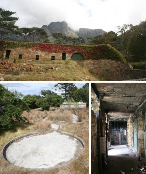 Abandoned Buildings In Oahu: Rhodes Zoo, Cape Town, South Africa
