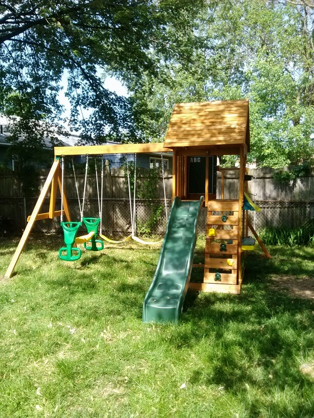 Huge Backyard Playsets : Big Backyard Sandy Cove Playset from Sams Club installed in Blackwood