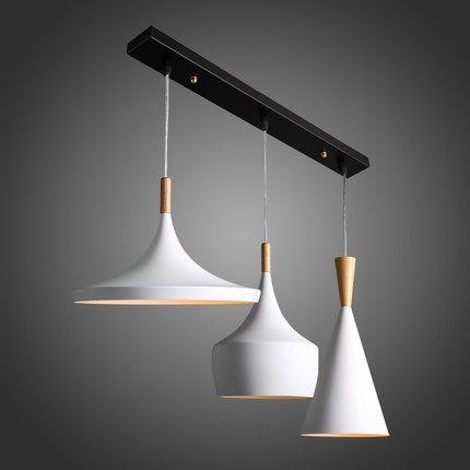Free verzending creatieve moderne scandinavische stijl minimalistische woonkamer wit lamp slaapkamer bar restaurant cafe bar kroonluchter